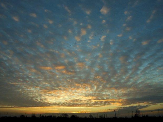 Dzisiejszy zachód słońca