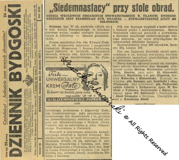 Spotkanie wateranów 1937 Gniezno
