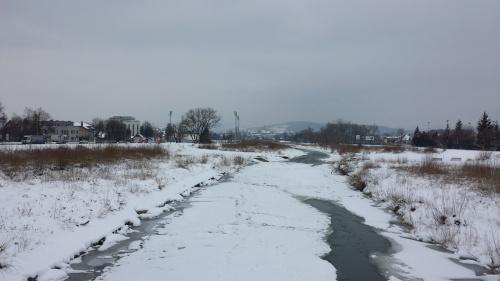 Powrót z pracy 19 marca - oj zimno było