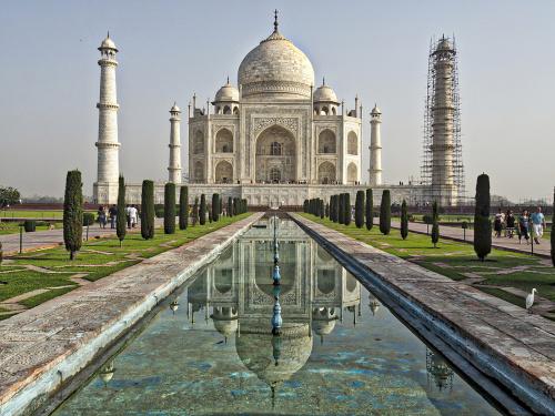 Taj Mahal, Indie. www.czterykranceswiata.com