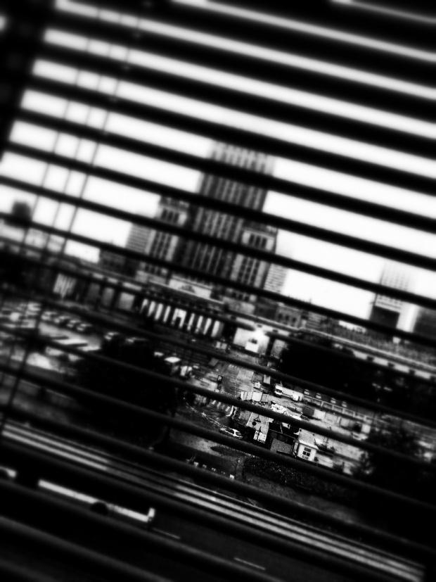 Pstryk codzienny - a za oknem deszcz...