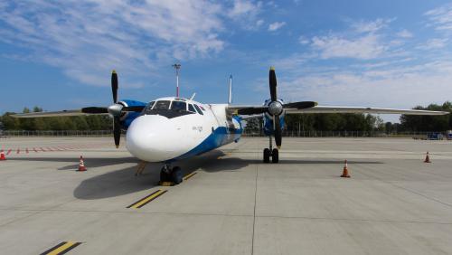 Antonov Cargo Białoruskich linii Genex