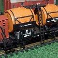Wagon rezerwoar (archaizm) serii R do transportu piwa okocimskiego pod zarządem P.K.P. Epoka II. #wagon #piwo #okocim #PKP #wagon #towarowy #H0