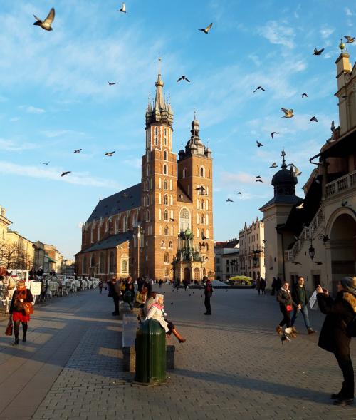 Kraków tętniący życiem na chwilę przed okresem epidemii :)