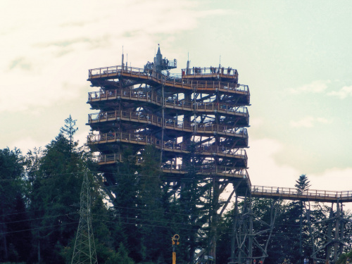 Wieża widokowa Krynica Zdrój..