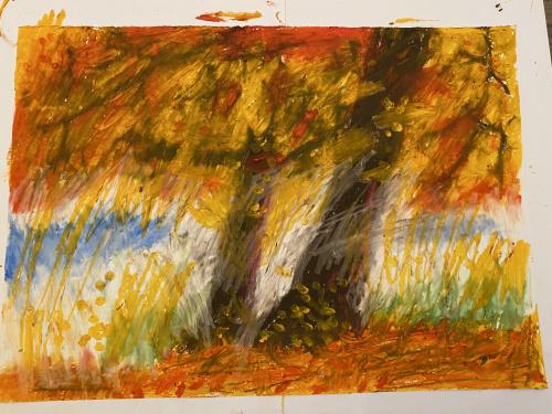 jesień - pastele