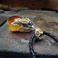 Biżuteria z bursztynem producent - silverum.com.pl #artystyczna #srebro #bursztyn #rękodzieło #wisior