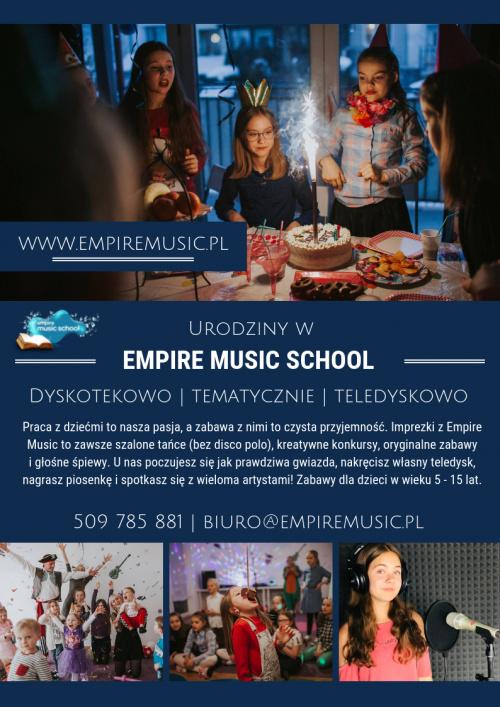 Urodziny w Empire Music School
