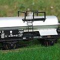 Wagon do przewozu kwasu azotowego Zakładów Azotowych z Tarnowa właczony do zarzadu kolei PKP serii Rh. Epoka III. Skala 1:87 H0. #Wagon #PKP #kwasiarka H0