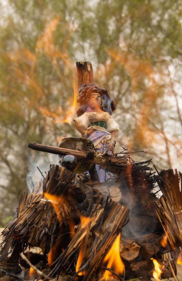 Spalenie czarownicy