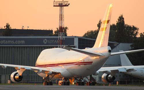 Powyższy okaz to samolot rządowy Zjednoczonych Emiratów Arabskich
