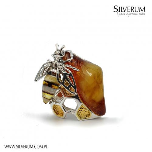 Autorskie pierścionki w unikatowym wzornictwie - silverum.com.pl #biżuteria #autorska #pierścionki #owady #srebrne #artystyczne