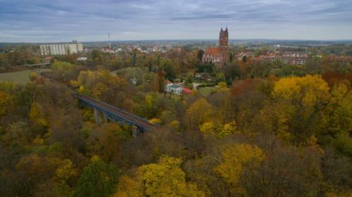 Pieniężno, woj. warmińsko- mazurskie. Ujęcie z drona :)