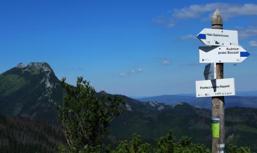 Wspominając wakacje... Giewont widziany z Przełęczy między Kopami