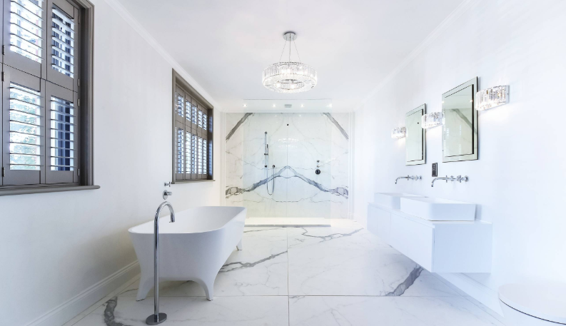 Lampa Z Kryształkami Do łazienki łazienka Budowa Domu